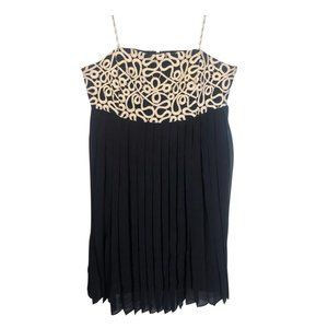 Lilly Pulitzer Black Jillie Chiffon Cocktail Dress